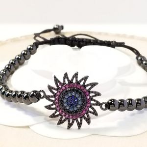NEW Color CZ Pave Bracelet
